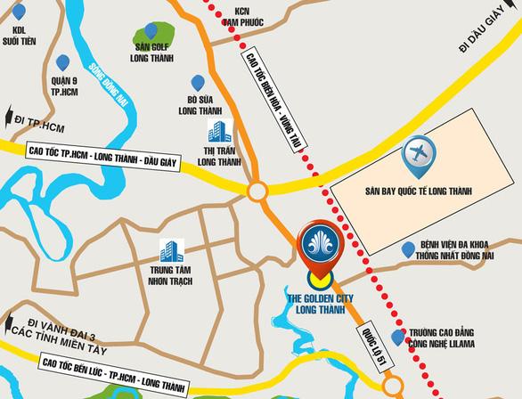 The Golden City Long Thành: Đất nền sổ đỏ, lựa chọn an toàn - Ảnh 2.