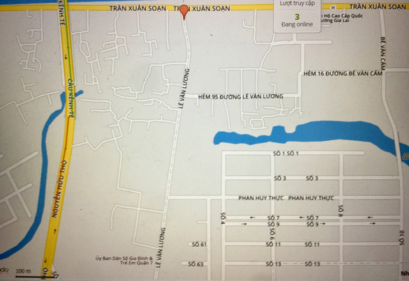 TP.HCM: Cấm dừng, đỗ ôtô trên đường Lê Văn Lương (Q.7) để giảm tắc đường - Ảnh 1.