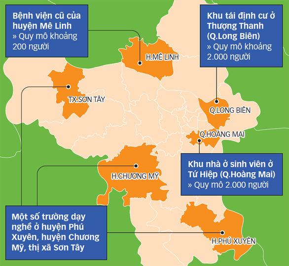 Mở rộng cơ sở cách ly tập trung: Hà Nội sẵn sàng đón số lượng lớn công dân về nước - Ảnh 2.