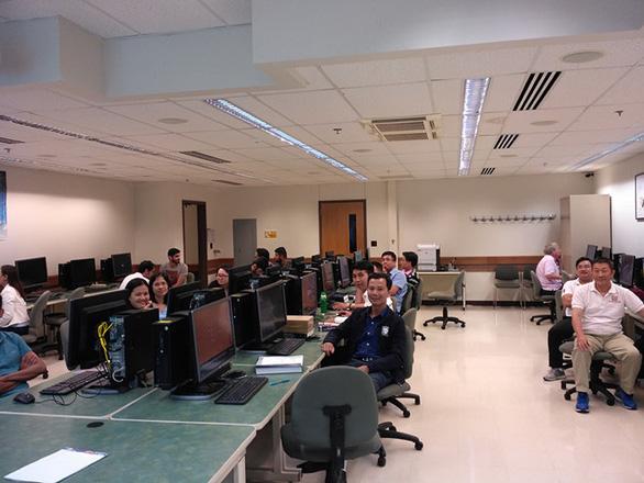 Tiếp cận lò đào tạo điện - điện tử tại Đai học Duy Tân - Ảnh 2.