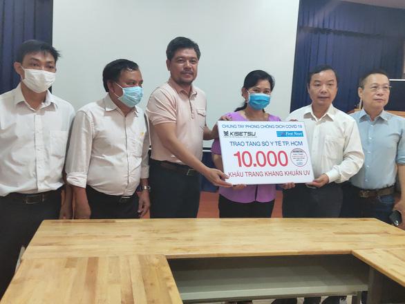 Nhiều doanh nghiệp đồng hành cùng Sở Y tế TP.HCM chống dịch COVID-19 - Ảnh 1.