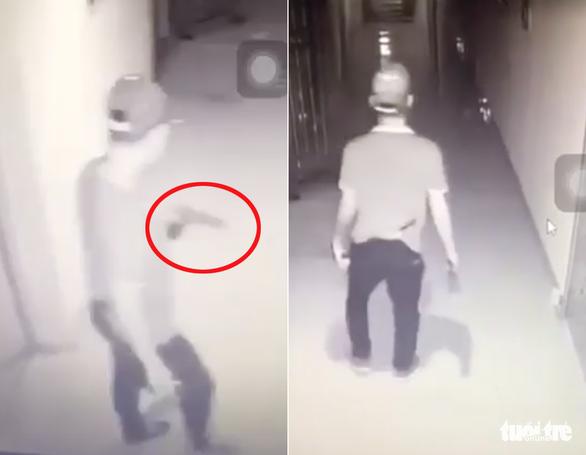 Điều tra vụ nổ tại chung cư làm một nam thanh niên nát bàn tay - Ảnh 2.