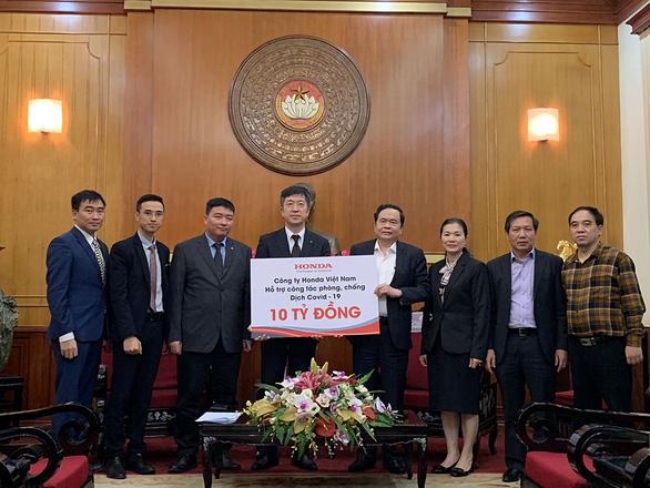 Honda Việt Nam chung tay phòng chống dịch tại Việt Nam - Ảnh 1.