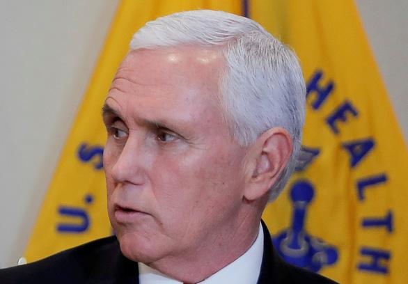 Phó tổng thống Mỹ bảo vệ cách phản ứng với COVID-19 của chính quyền Trump - Ảnh 1.