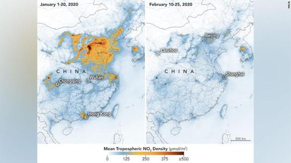 Trung Quốc giảm ô nhiễm nhờ... các biện pháp ngăn corona - Ảnh 1.