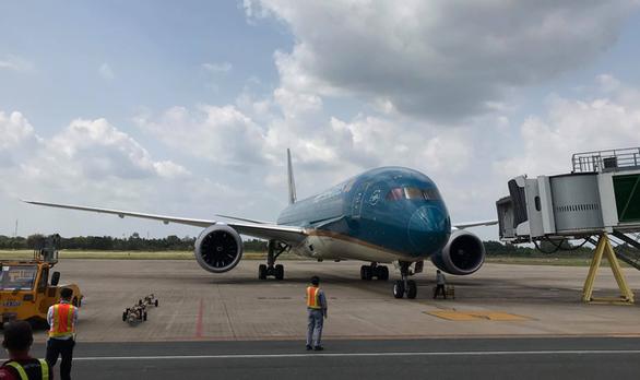Vietnam Airlines tạm dừng tất cả đường bay Việt Nam - Hàn Quốc - Ảnh 1.
