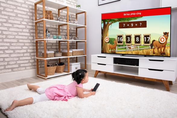 Chơi mà học cùng Sony Android TV, tại sao không? - Ảnh 1.