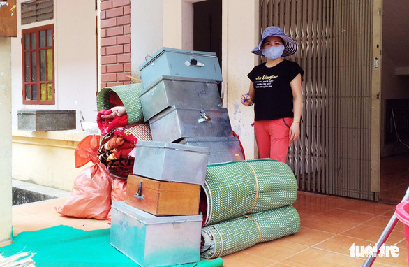 Dọn ký túc xá trường vùng cao đón người lao động từ Lào về cần cách ly - Ảnh 4.