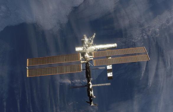 Trạm không gian là nơi an toàn nhất để tránh COVID-19 - Ảnh 1.