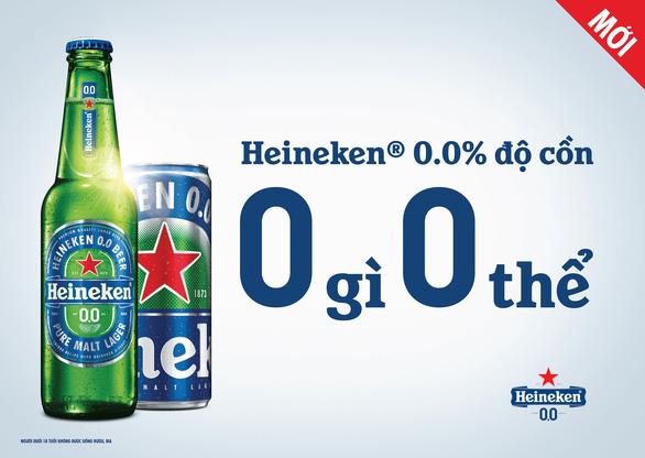 Trải nghiệm hương vị tuyệt hảo với 0.0% độ cồn của bia Heineken® 0.0 - Ảnh 2.