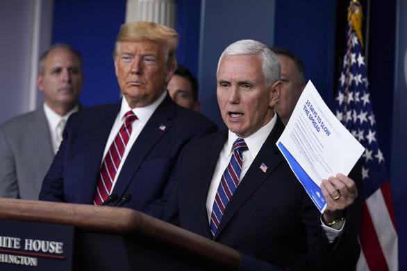 Một nhân viên văn phòng Phó tổng thống Mỹ dương tính với corona - Ảnh 1.