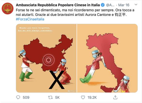 Việt Nam lên tiếng về 'đường 9 đoạn' trên Facebook Đại sứ quán Trung Quốc ở Ý - Ảnh 1.