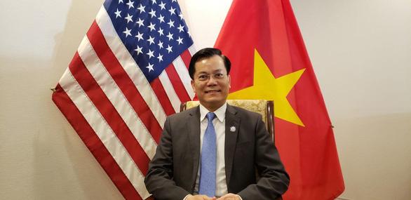 Đại sứ Hà Kim Ngọc: Mỹ không chủ trương ngừng nhập khẩu hàng dệt may Việt Nam - Ảnh 1.
