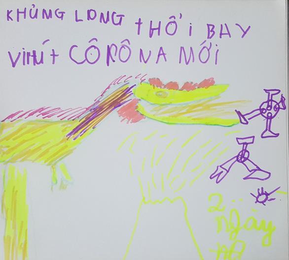 Hà Nội yêu thương, Hà Nội lạ kỳ qua ký họa mùa COVID-19 - Ảnh 14.