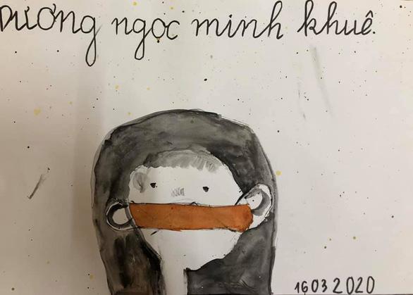 Hà Nội yêu thương, Hà Nội lạ kỳ qua ký họa mùa COVID-19 - Ảnh 15.
