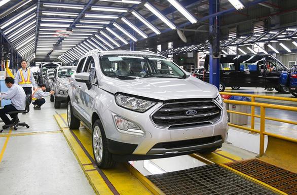 Ford Việt Nam tạm dừng sản xuất ôtô từ ngày 26-3 vì COVID-19 - Ảnh 1.
