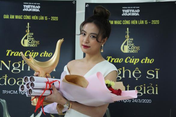 Hoàng Thùy Linh thắng lớn với 4 giải Cống hiến - Ảnh 1.