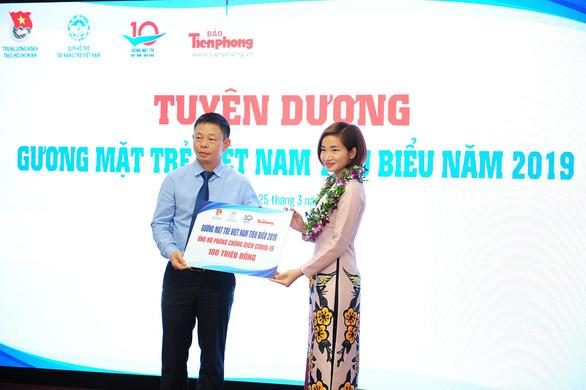 20 gương mặt trẻ Việt Nam trích 200 triệu tiền thưởng ủng hộ phòng chống dịch, hạn mặn - Ảnh 2.