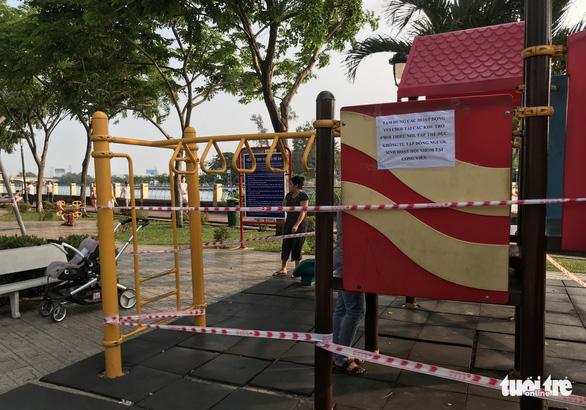 TP.HCM ngưng hoạt động các khu tập thể dục, khu trò chơi thiếu nhi tại công viên - Ảnh 6.