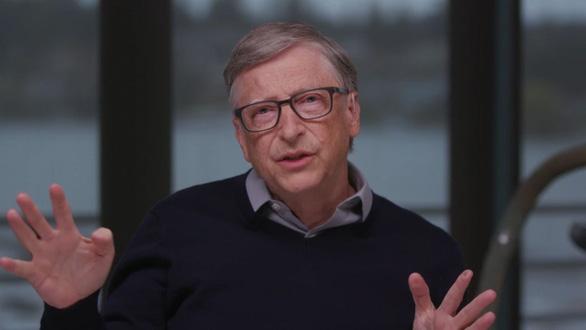 Bill Gates nghĩ khác ông Trump: Trở lại bình thường giữa tháng 4 là rất khó - Ảnh 1.