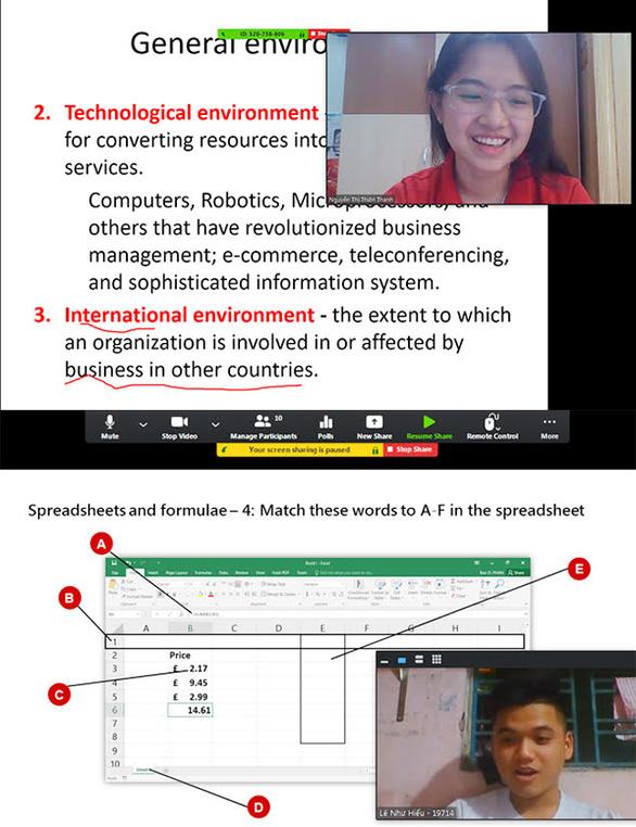 Sinh viên ĐH Duy Tân chuyển sang học toàn bộ online giữa dịch COVID-19 - Ảnh 8.