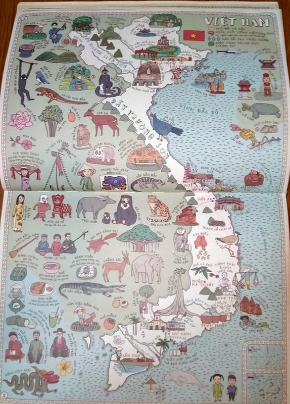 Hoàng Sa, Trường Sa lên siêu phẩm Atlas 3 triệu bản: 'Bản đồ' - Ảnh 2.
