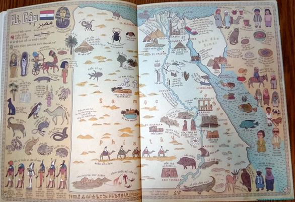 Hoàng Sa, Trường Sa lên siêu phẩm Atlas 3 triệu bản: 'Bản đồ' - Ảnh 5.