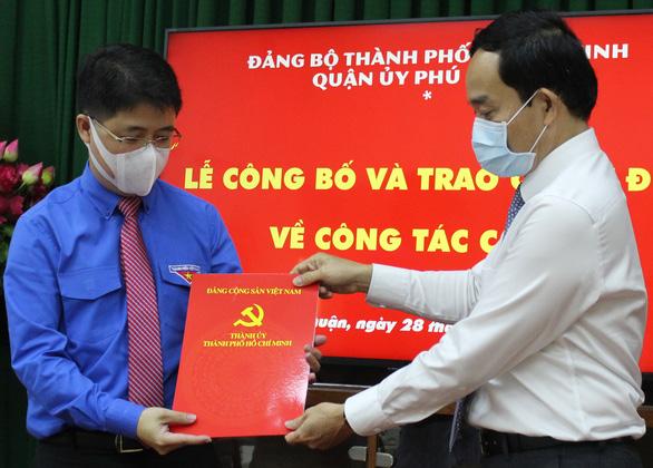 Bí thư Thành đoàn TP.HCM làm bí thư Quận ủy Phú Nhuận - Ảnh 1.