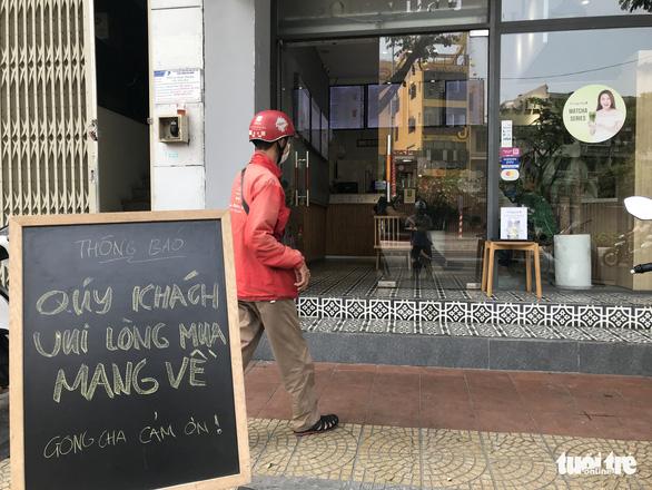 Từ 15h chiều 29-3, quán ăn tại Đà Nẵng chỉ được bán mang đi - Ảnh 1.