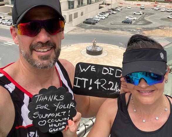 Bị cách ly, cặp vợ chồng rủ nhau chạy hơn 40 cây số bên ngoài... bancông - Ảnh 1.