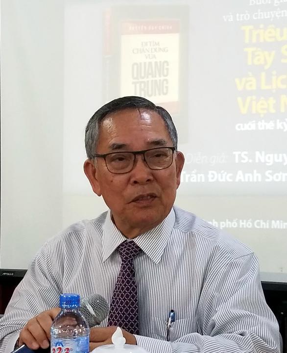 Ra mắt Đi tìm chân dung vua Quang Trung và Nguyễn thị Tây Sơn ký - Ảnh 1.