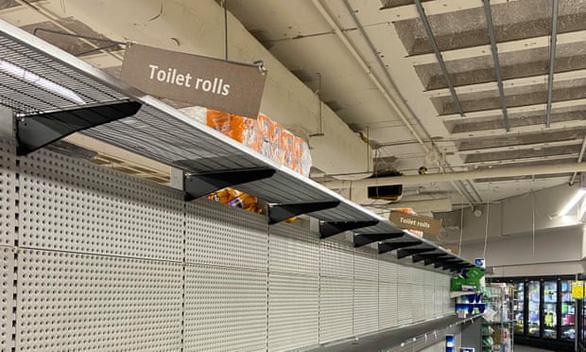 Sốt giấy vệ sinh ở Úc - Ảnh 1.