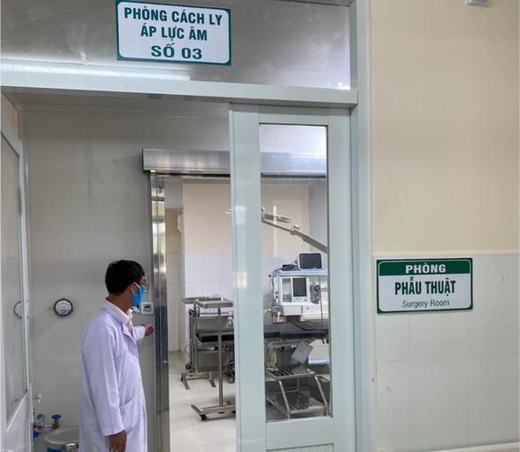 TP.HCM đảm bảo các yêu cầu nghiêm ngặt với phòng cách ly áp lực âm - Ảnh 2.
