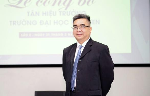 PGS.TS Nguyễn Ngọc Điện làm hiệu trưởng Đại học Hoa Sen - Ảnh 1.