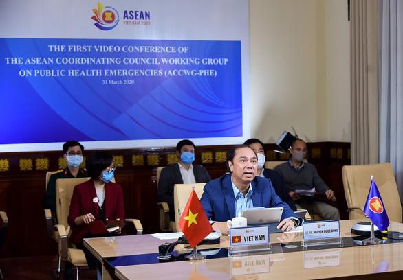 ASEAN cam kết duy trì mở cửa thị trường đối phó tác động từ COVID-19 - Ảnh 1.