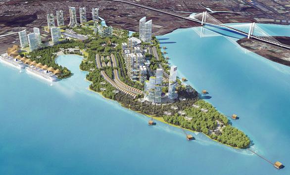 Bộ Xây dựng kiến nghị gỡ vướng cho siêu đô thị Mũi Đèn Đỏ - Ảnh 1.