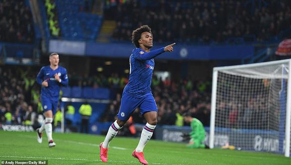Thắng thuyết phục Liverpool, Chelsea vào tứ kết Cúp FA - Ảnh 1.