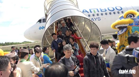 Bình Định tạm dừng nhập cảnh du khách xuất phát từ Hàn Quốc - Ảnh 1.