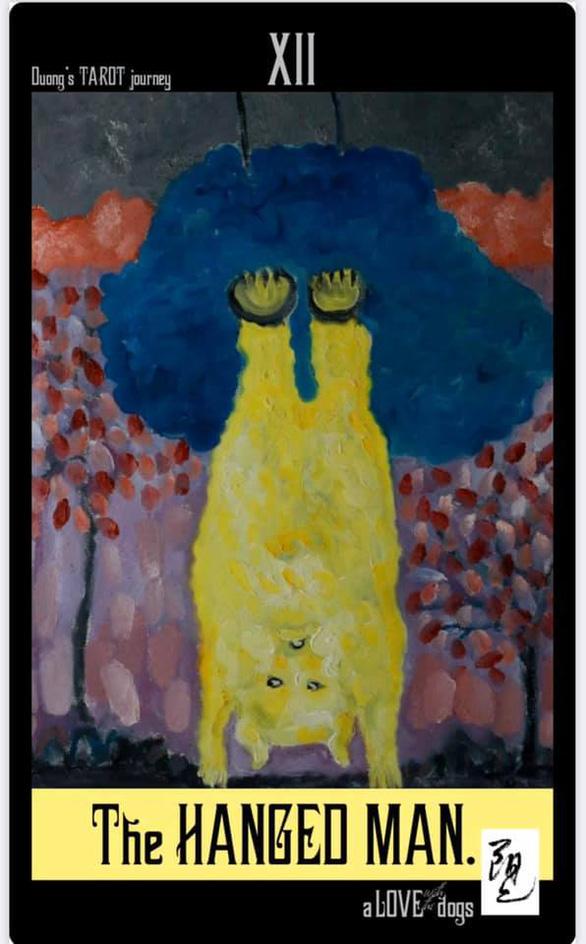 Bùi Hoàng Dương lại triển lãm 78 bức tranh chỉ toàn… chó Mông cộc - Ảnh 5.
