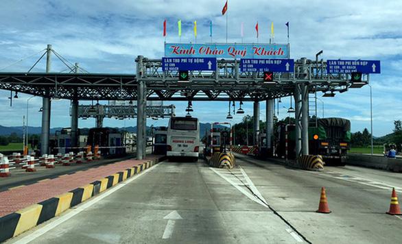 Chưa thể giảm phí BOT Bắc Bình Định và trạm quốc lộ 19 - Ảnh 1.