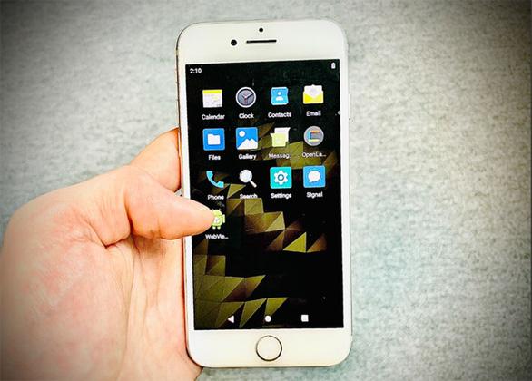 Cài Android lên iPhone được đó, mà bạn có muốn cài không? - Ảnh 1.