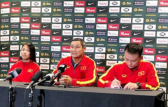 HLV Mai Đức Chung: Đối đầu với Úc là cơ hội rất quý cho bóng đá nữ Việt Nam - Ảnh 1.