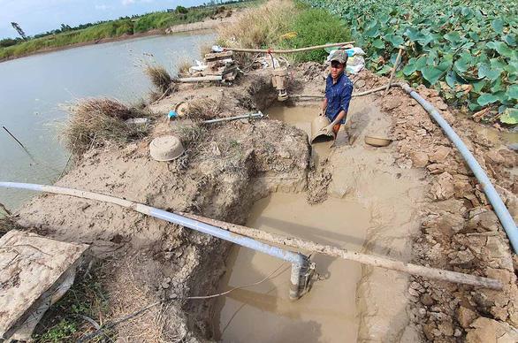 Hạn mặn khốc liệt ở miền Tây: 5 tỉnh công bố tình huống khẩn cấp - Ảnh 3.