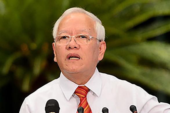 Cảnh cáo nguyên chủ tịch UBND TP.HCM Lê Hoàng Quân - Ảnh 1.