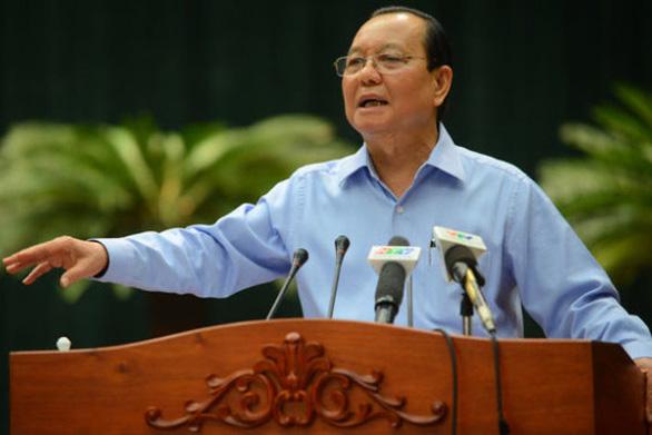 Cách chức nguyên bí thư Thành ủy TP.HCM nhiệm kỳ 2010-2015 với ông Lê Thanh Hải - Ảnh 1.