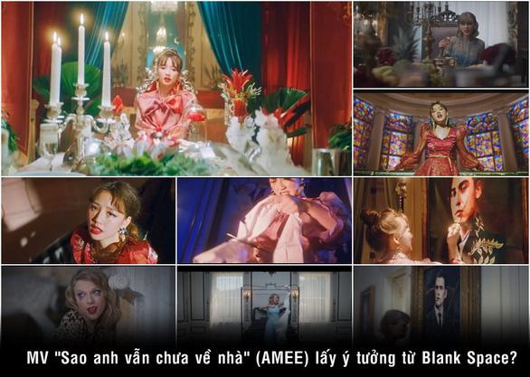 MV của Amee bị tố giống MV Taylor Swift: Bởi vì đều hâm mộ chị ấy? - Ảnh 1.