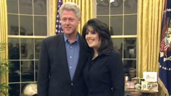 Ông Bill Clinton tiết lộ ngoại tình với Monica Lewinsky giúp tạm quên các áp lực - Ảnh 2.