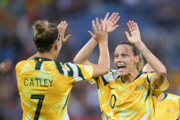Tuyển nữ Việt Nam thua Úc 0-5 ở lượt đi trận play-off tranh vé dự Olympic 2020 - Ảnh 1.
