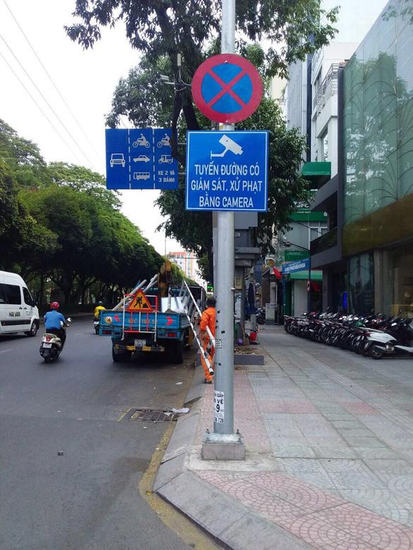 TP.HCM thêm 14 đường lắp camera phạt nguội vi phạm giao thông - Ảnh 1.