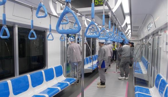 Hai đoàn tàu metro từ Nhật Bản sắp được chuyển về TP.HCM - Ảnh 2.